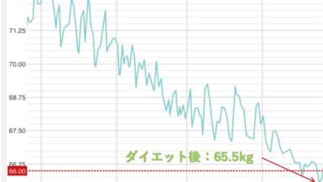 ダイエット_グラフ